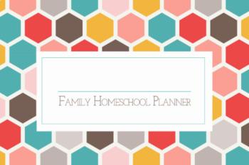 "Potter Teaches | 8.5"" x 11"" Undated Weekley Homeschool Planner, Teacher Planner"
