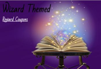 Potter themed reward coupons