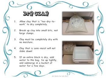 Pottery 101 - Clay Reclamation