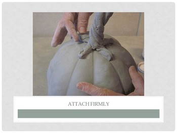 Pottery: Ceramic Jack-O-Lantern