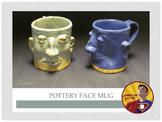 Pottery: Face Mug