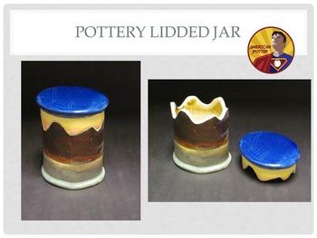Pottery: Lidded Jar