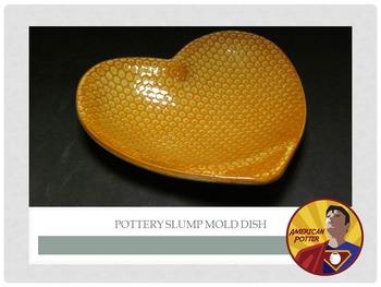 Pottery: Slump Mold Ceramic Bowl from Clay