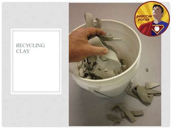 How to recycle clay scraps