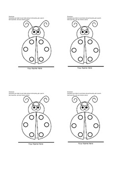 Potty Punch Card and Coloring Pages