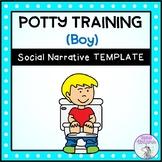 Potty Training (Boy) - Social Story Template