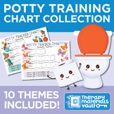 Potty Training Chart Collection: 11 Themes Included