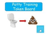 Potty Training Chart / Token Board / Autism / Preschool