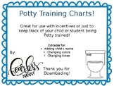 Potty Training Charts!