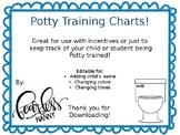 Potty Training Charts!