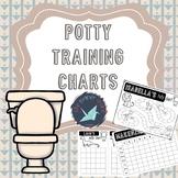 Potty Training Charts: Editable