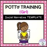 Potty Training (Girl) - Social Story Template