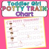 Potty Training Reward Chart for Toddler Girls