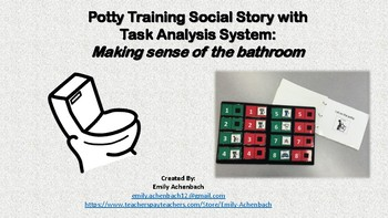 Potty Training Social Story with Interactive Step-by-Step