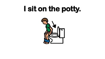 Potty Training for Children with Autism: Social Story and Step-by-Step Cards