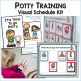 Potty Training Visual Schedule Kit (newly updated)