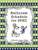 Potty Visual Schedule for SPED