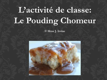 Pouding Chomeur (Poor Man's Pudding) Quebec Cultural Recipe Activity