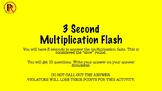 Pough Review's 3-second Multiplication Flash (Larger Numbers)