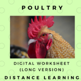 Poultry Scaffolded Note PDF & Google DOC link