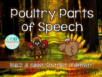 Poultry Parts of Speech