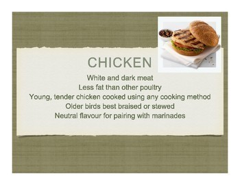 Poultry (Chicken) Power Point
