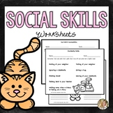 Social Skills Activities | Social Skills for Autism | Speech Therapy