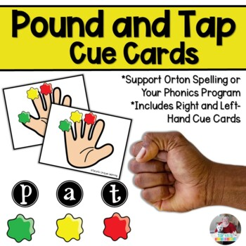 Pound and Tap Cue Cards