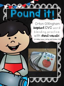 Pound it! CVC Word Game