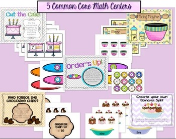 Back to School Centers {10 Common Core Literacy and Math Centers}