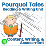 Pourquoi Tales: Content, Writing, and Assessment RL.6.3  W.6.3
