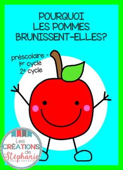Pourquoi les pommes brunissent-elles?