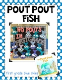 Pout Pout Fish~ Craft Template