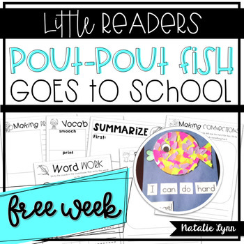 Pout Pout Fish Goes to School Close Read - Free Week
