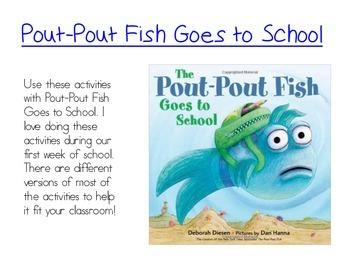 pout pout fish goes to school reading and writing