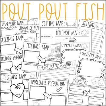 Pout Pout Fish No Prep Book Companion