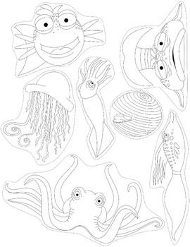 Pout Pout Fish Puppets