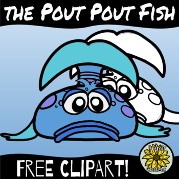 Free Pouting Fish Clipart!