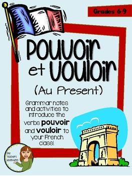 Pouvoir and Vouloir - French Irregular Verbs Pack