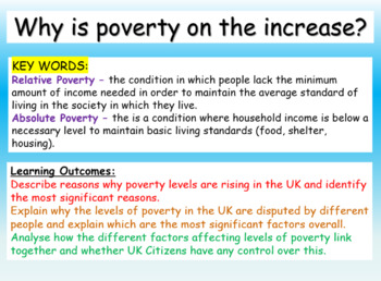 Poverty and its causes