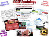 Poverty as a Social Issue (I) - Social Stratification  (GCSE Sociology 8/20) KS4