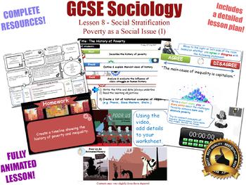 Poverty as a Social Issue (I) - Social Stratification  (GCSE Sociology 8/20) KS4