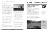 Poverty in Australia Critical Reading Article Resource