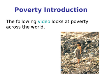 Poverty in the UK & World - Absolute & Relative Poverty - Causes of Poverty
