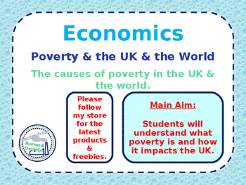 Poverty in the UK & World - Absolute & Relative Poverty -