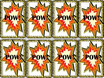 Pow! It's a Vowel literacy game