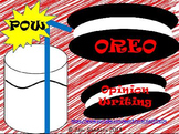 Pow Oreo Opinion Writing Second Grade