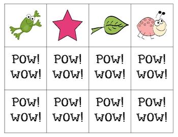 Pow! Wow! Rhyming Word Card Game