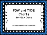 Pow and Tide - Writing Posters
