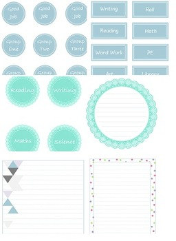 Powder Blue Teaching Pack
